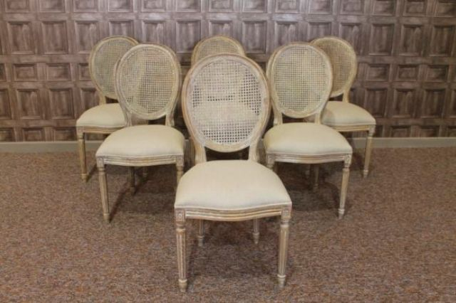 French Cane Louis Dining Chair