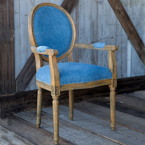 French Style Oval Back Chair CF-1812