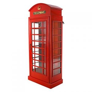 Phone Booth Display Cabinet