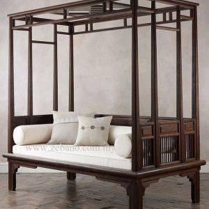 Poster Royal Day Bed Teak Wood LS-307