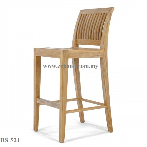 Teak Wood Bar Chair BS-521