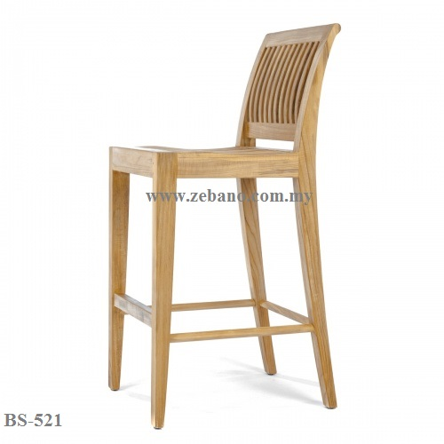 Teak Bar Chair BS 521 (2)