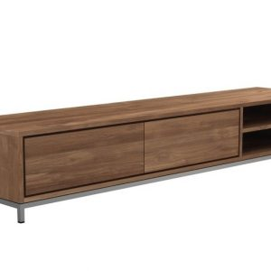 Custom Make Teak Tv Cupboards–209x47x38 Cm Zebano