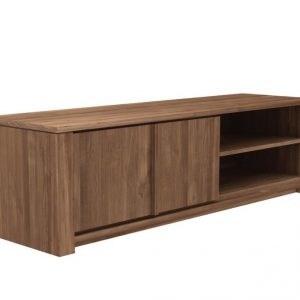 Teak Lodge TV Cupboard 2 Doors—160x46x46 Cm Zebano (2)