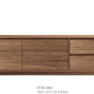 Teak Wood Tv Cabinet TCB-1402