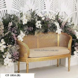 Wedding Classic Golden Sofa Cf 1816(B)