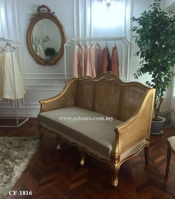 Wedding Classic Golden Sofa CF-1816