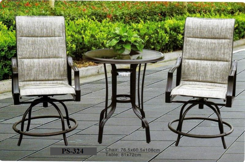 Swivel Cast Aluminum Patio Set PS-324