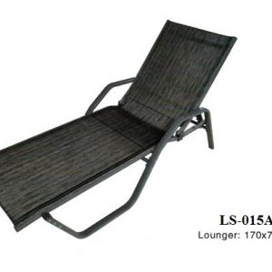 Cast Aluminum Pool Sun Lounger LS-015A