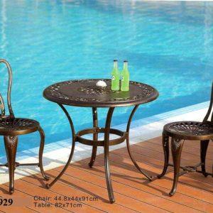 Cast Aluminum Pool Deck Dining Set PS-0929