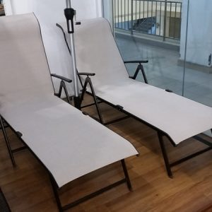 Foldable Deck Lounge Chair LS 074