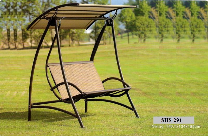 Outdoor Garden Double Swing SHS-291