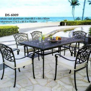 Outdoor Cast Aluminum Dining Furniture DS 6009