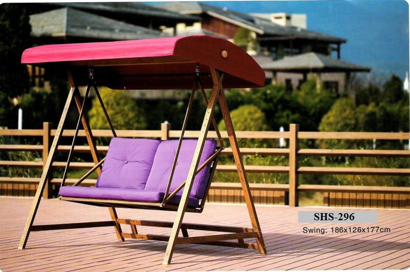 Outdoor Deck Double Swing SHS-296
