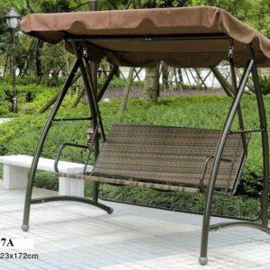 Outdoor Garden Wicker Rattan Swing SHS-197A