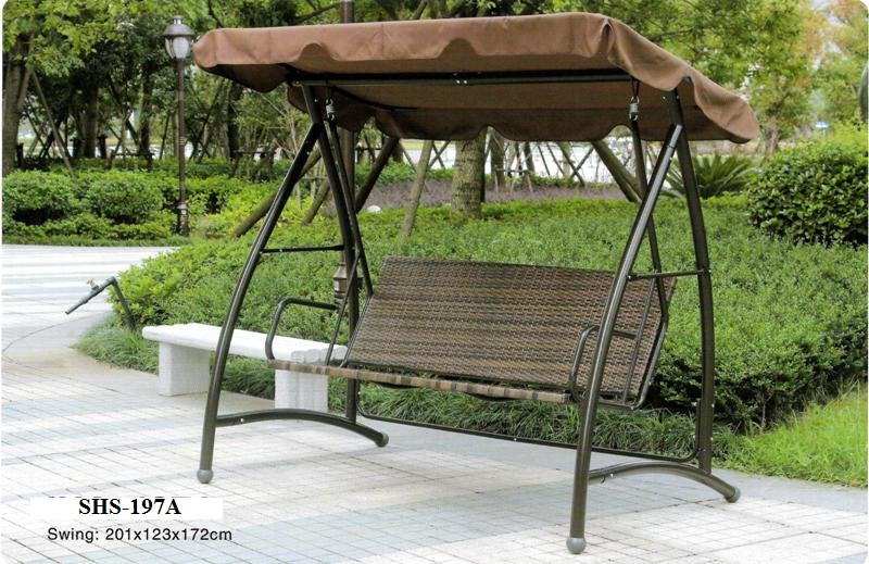 Outdoor Garden Wicker Rattan Swing SHS-197A