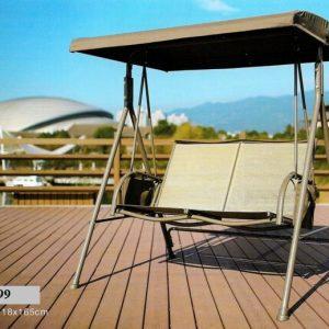 Outdoor Wooden Deck Swings SHS-299
