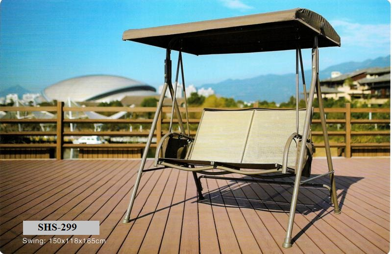 Outdoor Wooden Deck Swings SHS-299