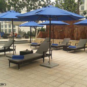 Panama Pool Deck Sun Lounger LS T121(HC) (2)