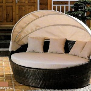 Patio Day Bed With Canopy LS-5300