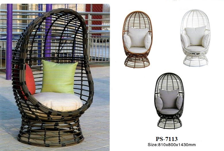 Patio rattan classic chair
