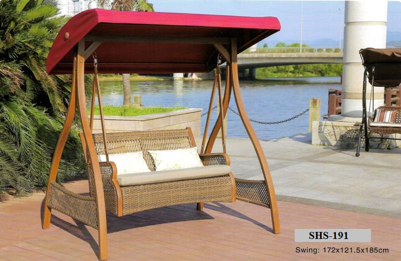 Patio Rattan Swing SHS-191