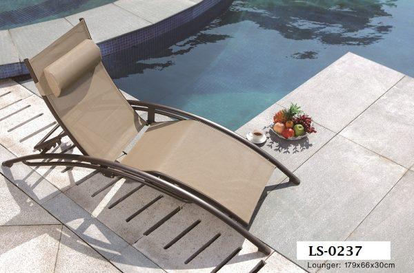 Pool Deck Sun lounger LS-0237-Zebano