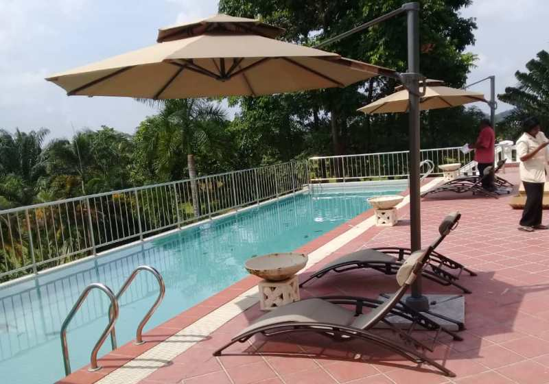 Pool Deck Sun lounger LS-0237