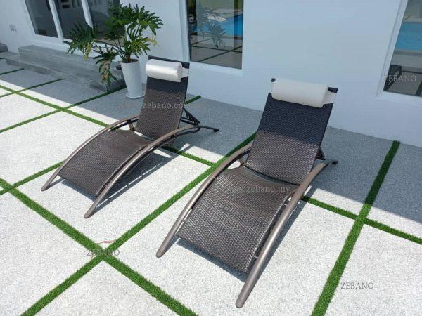 Deck Lounge chair Zebano