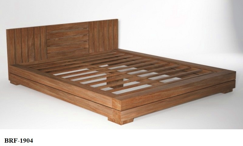 Solid Teak Wood Bed Frame BRF-1904