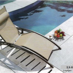 Pool Deck Sun Lounger LS-0237