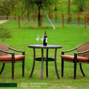 Wicker Classic Design Garden Set PS-619