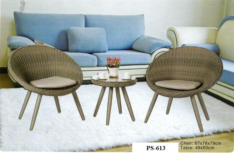 Wicker Mini Patio Set PS-613