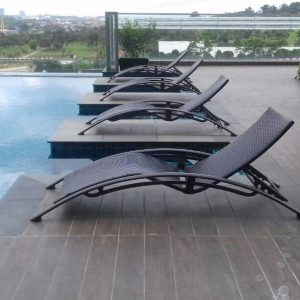 Wicker Pool Deck Lounger LS 0238 (1)