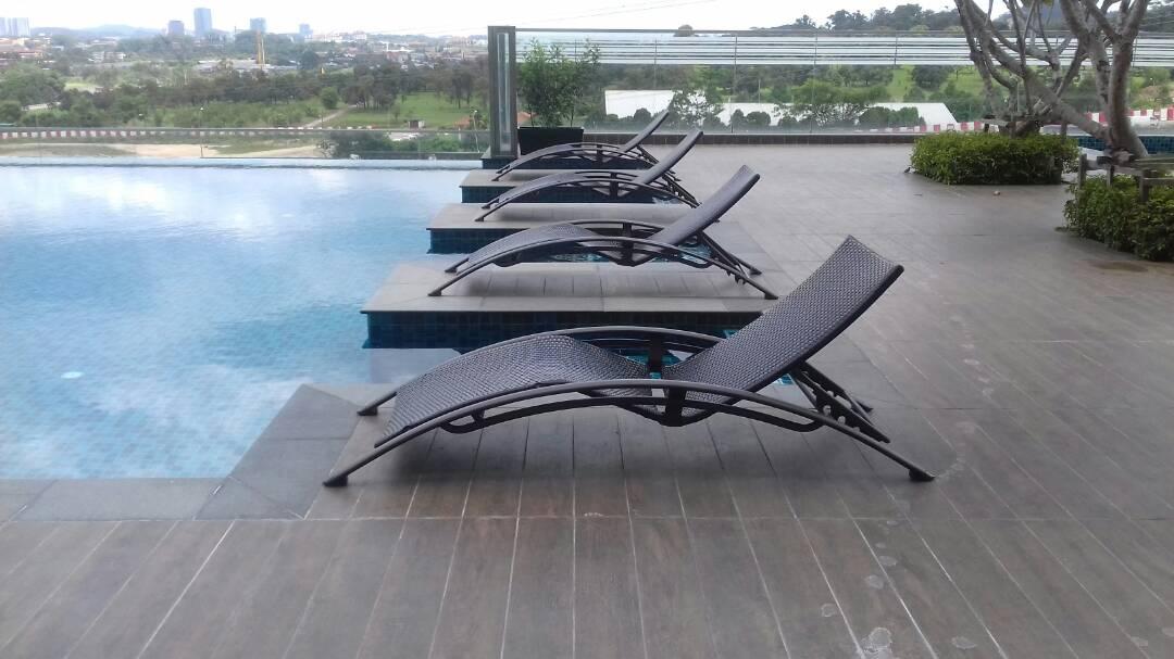 Wicker Pool Deck Lounger LS 0238 (1)