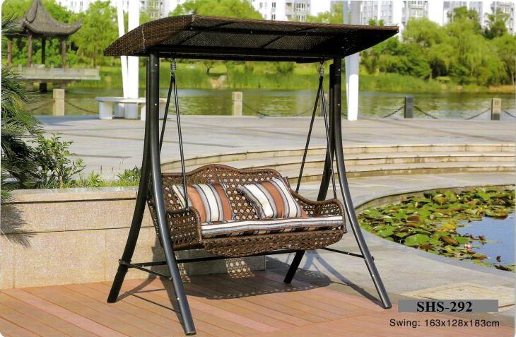 Zebano Outdoor Pool Deck Swing SHS-292