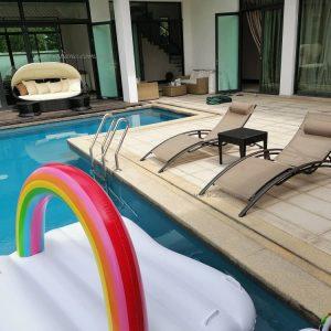 Zebano Pool Sun Lounger & Day Beds (6)