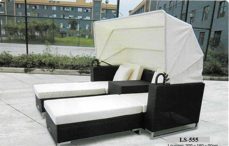 Lounge Day Bed With Canopy LS-555
