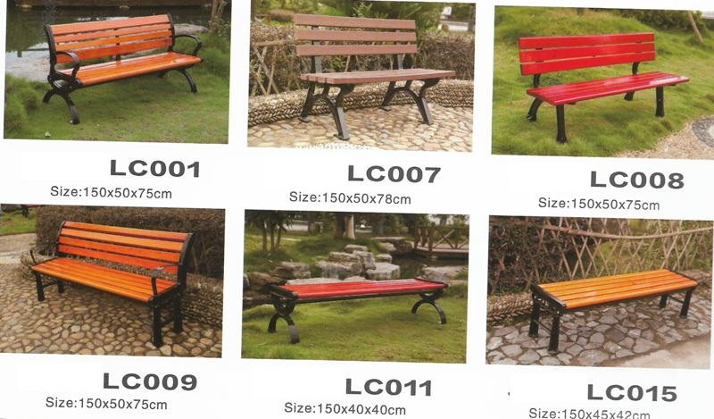 Outdoor Garden Park Bench