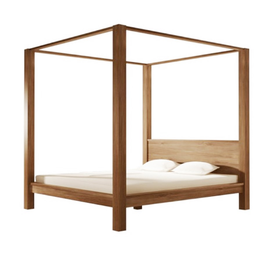 Poster Teak Wood Bed Frames