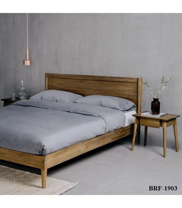 Vintage Teak Bed Frame BRF-1903
