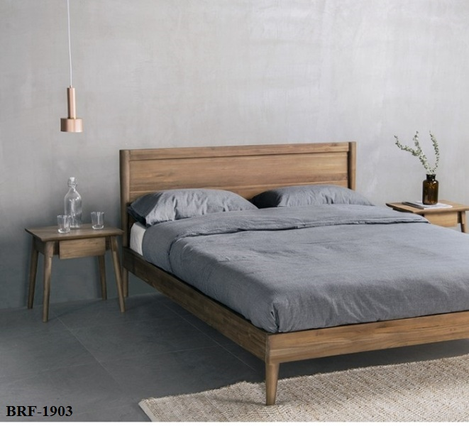 vintage-bed-frame Super Single from zebano L115 D200 H80 cm (2)