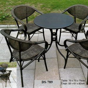 Batyline Outdoor Dining Chair And Table DS 789