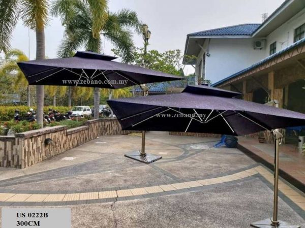 Cantilever Parasol Malaysia US-0222B (1)