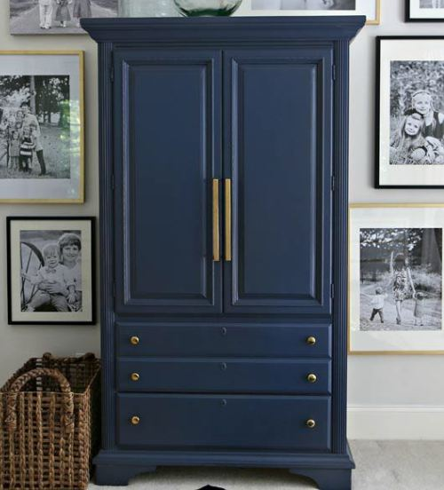 Classy Blue Cabinet