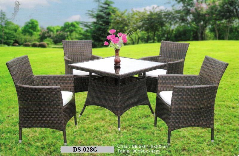 Garden Wicker Dining Set DS-028G