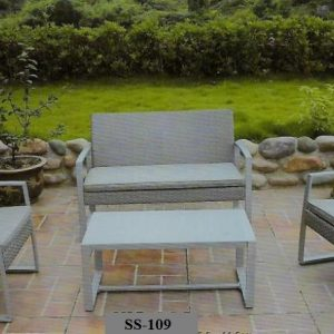 Patio Wicker Sofa SS-109