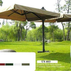 Double Sided Cantilever Garden Umbrella US-603