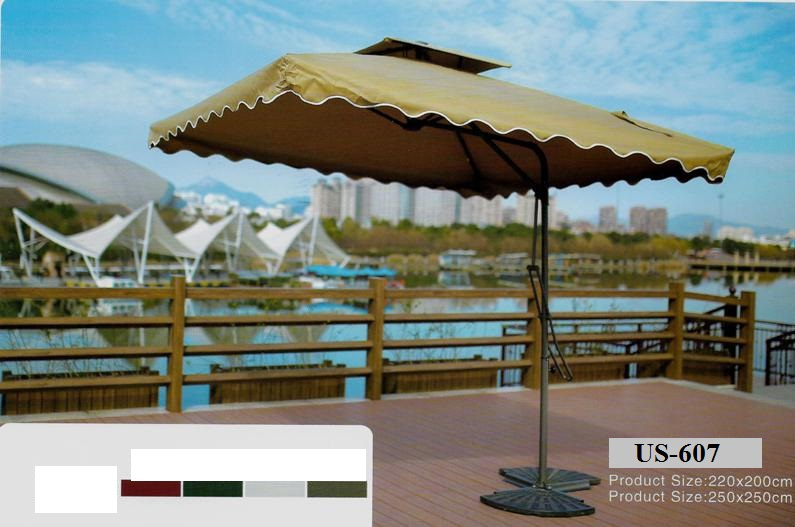 Pool Deck Side Pole Umbrella