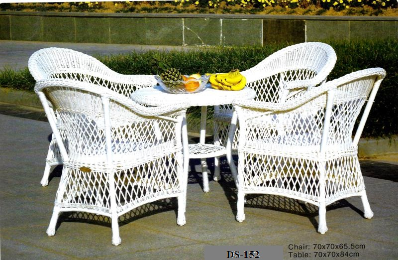 Outdoor Classic Wicker Patio Dining